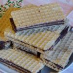 Wafle czekoladowe(proste...