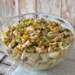 Wielkanocna salatka koper...