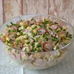 Wiosenna salatka z rzodki...