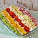 Salatka w paski