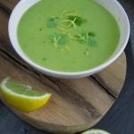 Zielona zupa z...