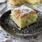 Jesienny keks jabłeczny