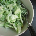 Mizeria z brokułami