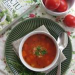 Wiosenna zupa pomidorowa...