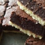 Brownie na kruchym