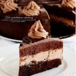 tort czekoladowy z suszon...