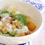 prosta salatka ziemniacza...