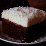 ciasto czarno-białe