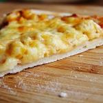 pizza na cienkim spodzie