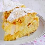 ciasto maslane z jablkami...