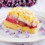 ciasto z rabarbarem i...
