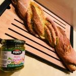 Pleciony chlebek z serem...