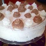Tort biszkoptowy z masą...