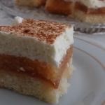 Ciasto biszkoptowe z jabl...