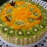 Tort budyniowo-smietankow...