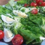 Roladki z salaty z kremow...