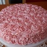 Tort biszkoptowy z  masa ...