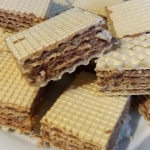 Wafle tortowe z  kakaowa ...