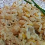 Salatka ryzowa z ananasem...