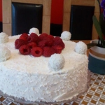 Tort kokosowy  Rafaello