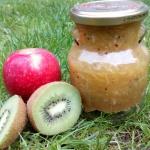 Dżem jabłko-kiwi