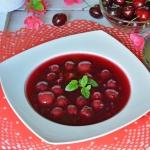 Czereśniowa zupa
