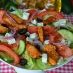 Salatka kurczak na grecki...