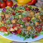 Teczowa salatka