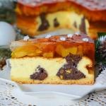 """Ciasto """"serowo - makowa..."""