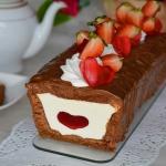 Walentynkowe ciasto z...