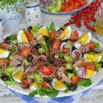 Salatka francuskich rybak...