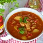 Zupa rybna na pomidorach ...