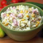 Salatka czosnkowo-koperko...