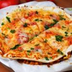 Meksykańskie tortille z...