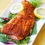 Ryba z pomidorowym pesto