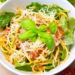 Spaghetti z mieloną...