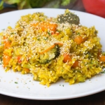 Ryż curry z warzywami i...