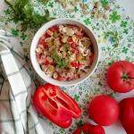 Salatka z wedzona makrela...