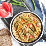 Omlet z fasolka szparagow...