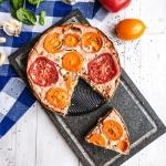 Tarta z cukinia i pomidor...