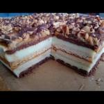 Ciasto Snickers bez piecz...