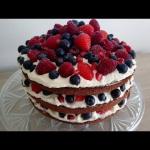 Tort z owocami - pachnacy...