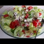Salatka z serem feta