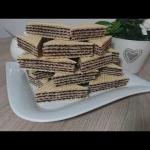 Domowe wafle kakaowe z...