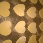 Walentynkowe serca z czek...