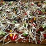 Wegetarianska pizza na sp...