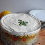 Salatka sledziowa z grosz...