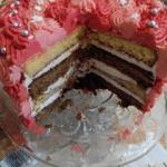 Tort urodzinowy mojej Mam...