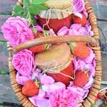 Dżem truskawka-róża -...