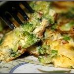 Fritata z brokułami